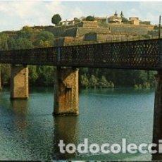 Postales: GALICIA - PONTEVEDRA - Nº 6 TUY - PUENTE INTERNACIONAL AL FONDO PORTUGAL - AÑO 1969 - SIN CIRCULAR. Lote 182998040