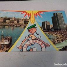 Postales: CORUÑA - POSTAL LA CORUÑA - BELLEZAS DE LA CIUDAD. Lote 183008967