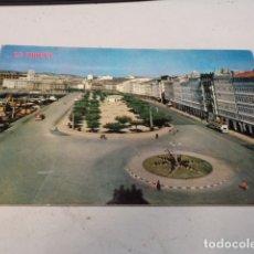 Postales: CORUÑA - POSTAL LA CORUÑA - AVENIDA DE LA MARINA. Lote 183009937