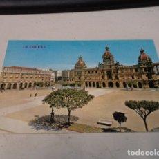Postales: CORUÑA - POSTAL LA CORUÑA - PLAZA DE MARÍA PITAY Y AYUNTAMIENTO. Lote 183010228