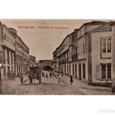 Postales: ORTIGUEIRA.(LA CORUÑA).- VISTA DE LA CARRETERA.. Lote 183032510
