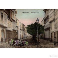 Postales: ORTIGUEIRA.(LA CORUÑA).- PASEO CANTÓN.. Lote 183032921