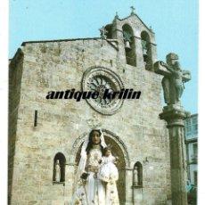 Postales: BETANZOS Nº 5082 FACHADA IGLESIA DE SANTA MARIA , IMAGEN .- EDICIONES FAMA . Lote 183101352