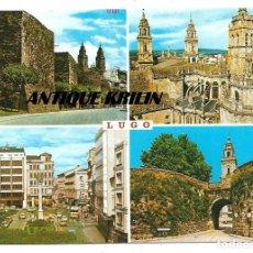 Postales: LUGO Nº 318 VARIAS VISTAS .- EDICIONES PARIS / SIN CIRCULAR . Lote 183166183