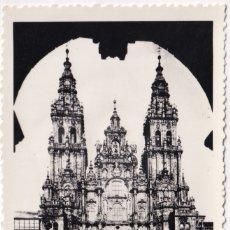 Postales: SANTIAGO DE COMPOSTELA - LA CATEDRAL (NO. 202) - ED. L. ROISIN. Lote 183168736