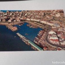 Cartes Postales: CORUÑA - POSTAL LA CORUÑA - PUERTO INTERIOR - VISTA AÉREA. Lote 183423175
