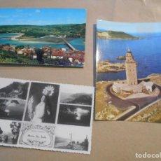 Postales: 3 POSTALES GALICIA-. Lote 183432561