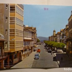 Postales: POSTAL TUY - PASEO CALVO SOTELO. Lote 183480573