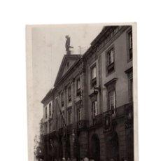 Postales: LA CORUÑA.(GALICIA).- GOBIERNO CIVIL, DIPUTACIÓN PROVINCIAL Y TEATRO ROSALIA DE CASTRO. COL. LOTY.. Lote 183494942