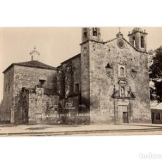 Postales: VILLAGARCIA DE AROSA.(PONTEVEDRA).- IGLESIA PARROQUIAL. POSTAL FOTOGRÁFICA.. Lote 183501675