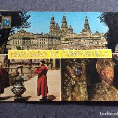 Postales: SANTIAGO DE COMPOSTELA. EDITADO POR DOMINGUEZ, MADRID. CIRCULADO.. Lote 183545023