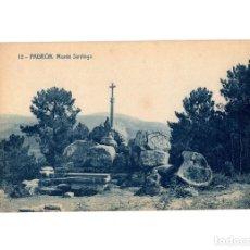 Postales: PADRÓN.(LA CORUÑA).- MONTE SANTIAGO.. Lote 183661585