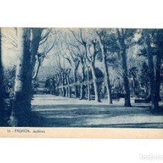 Postales: PADRÓN.(LA CORUÑA).- JARDINES.. Lote 183662092
