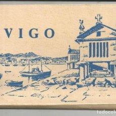 Postales: VIGO - TACO 12 POSTALES FOTOGRAFICAS DE VIGO EN ACORDEÓN - AÑO 1959. Lote 183662515