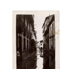 Postales: PADRÓN.(LA CORUÑA).- 1929 INUNDACIONES. POSTAL FOTOGRÁFICA L. ARAGUNDE. Lote 183664606