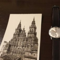 Postales: ANTIGUA POSTAL FOTOGRÁFICA SANTIAGO CATEDRAL FACHADA DEL OBRADOIRO. Lote 183758237