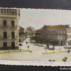 Postales: O CARBALLIÑO-CARBALLINO-PLAZA Y AL FONDO IGLESIA NUEVA-2-ED·ARRIBAS-POSTAL FOTOGRAFICA-(64.476). Lote 183854925