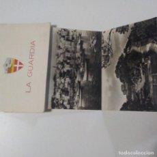 Postales: MAGNIFICO ACORDEON 10 POSTALES LA GUARDIA PONTEVEDRA. ED. LUIS CADILLA 1961. Lote 183977822