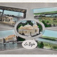 Postales: LA TOJA. 5 VISTAS. AÑOS 60. Lote 184384882