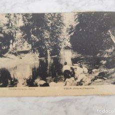 Cartes Postales: POSTAL DE VERIN. PREGUIZA AÑO 1948. Lote 184450311