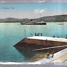 Postales: TARJETA POSTAL. MUELLE DE PIEDRA. VIGO. EDICION JUALIAN BUCETA. Lote 184695027