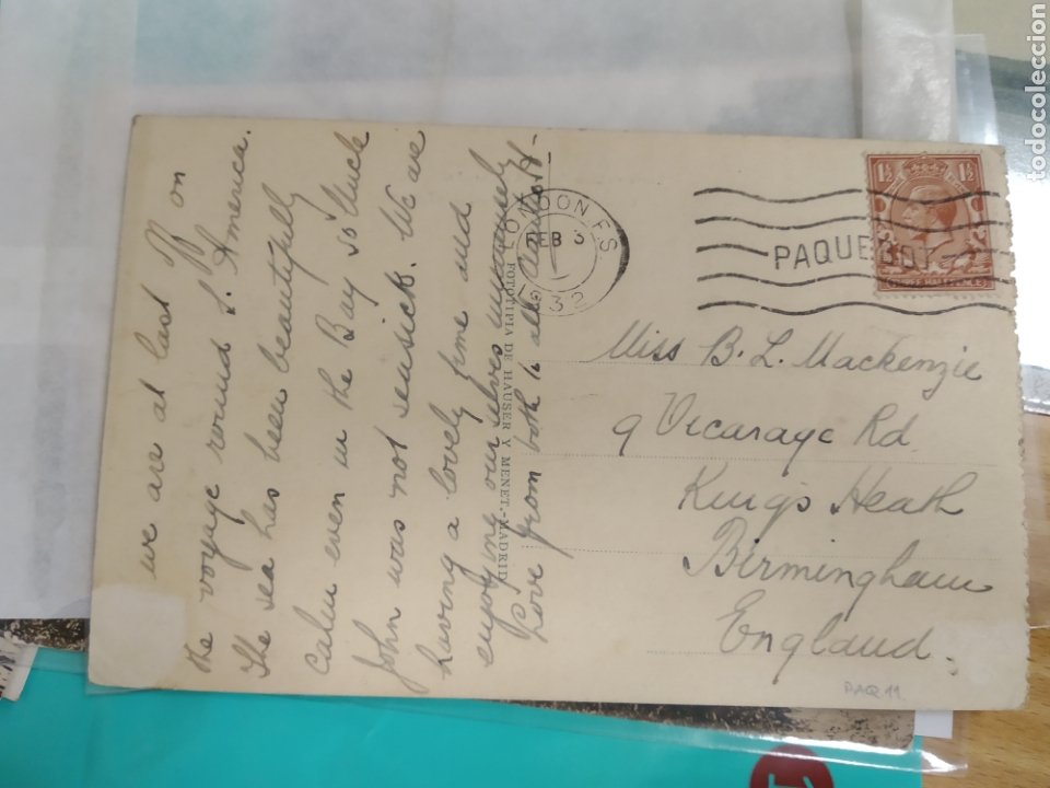 Postales: Postal de La Coruña - Calle de Castelar (Librería Lino Pérez) Circulada - Foto 2 - 184713207