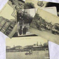 Postales: 11 TARJETAS POSTALES DE LA CORUÑA SIN CIRCULAR. Lote 185989372