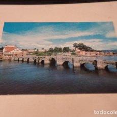 Postales: PONTEVEDRA - POSTAL BAYONA - LA RAMALLOSA -PUENTE ROMANO. Lote 187205766