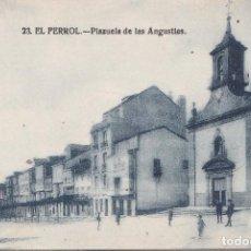 Postales: EL FERROL (LA CORUÑA) - PLAZUELA DE LAS ANGUSTIAS. Lote 188442760