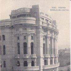 Postales: VIGO (PONTEVEDRA) - TEATRO ROSALIA DE CASTRO. Lote 188611932