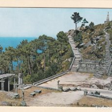 Cartes Postales: POSTAL PICO DE EL FACHO. MONTE SANTA TECLA. LA GUARDIA. PONTEVEDRA (1966). Lote 188761765
