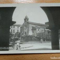 Postales: PONTEVEDRA. IGLESIA SAN FRANCISCO. GALICIA TURISTICA. Lote 189105646