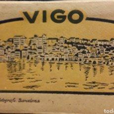 Postales: PRECIOSO LOTE DE POSTAL DE VIGO ANTIGUO LIBRILLO N1. Lote 189578155