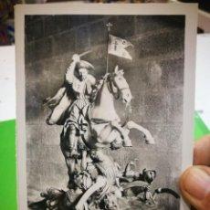 Postales: POSTAL SANTIAGO CATEDRAL EFIGIE PROCESIONAL DE SANTIAGO APÓSTOL. Lote 189940017