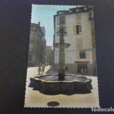 Postales: ORENSE PLAZA DEL HIERRO. Lote 190234540
