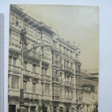 Postales: POSTAL ANTIGUA. AVENIDA DE LINARES RIVAS. CORUÑA. FOTO FERRER. Lote 190865506