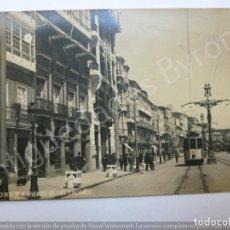 Postales: POSTAL ANTIGUA. AVENIDA DE LOS CANTONES . CORUÑA. FOTO FERRER. Lote 190867458