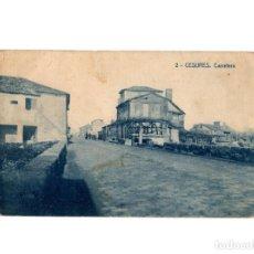 Postales: CESURE.(LA CORUÑA).- CARRETERA.. Lote 190869236