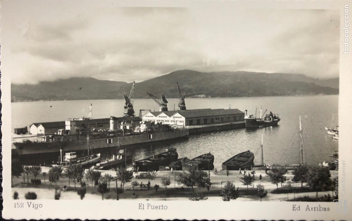 TARJETA POSTAL VIGO. EL PUERTO. (Postales - España - Galicia Antigua (hasta 1939))