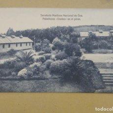 Postales: SANATORIO MARÍTIMO NACIONAL DE OZA. PABELLONES DOCKER EN EL PINAR. KALLMEYER.SIN CIRCULAR.. Lote 191141568