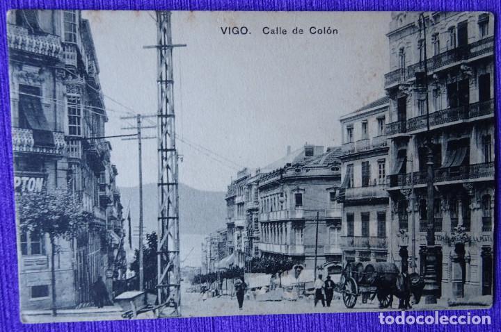VIGO - CALLE DE COLON (Postales - España - Galicia Antigua (hasta 1939))