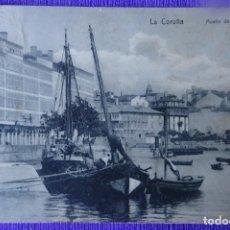 Postales: LA CORUÑA - MUELLE DE LA MARINA. Lote 191161807