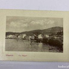 Postales: TARJETA POSTAL FOTOGRAFICA. GALICIA. PONTEVEDRA. LA PLAYA. . Lote 191442991