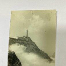 Postales: TARJETA POSTAL FOTOGRAFICA. GALICIA. LA CORUÑA. CAMARIÑAS. FARO VILLANO. FOTO CAÑAS.. Lote 191443082