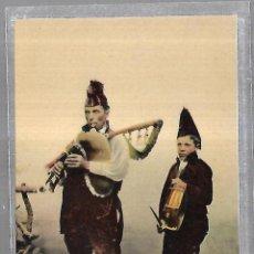 Postales: TARJETA POSTAL. SANTIAGO DE COMPOSTELA. GALICIA. TIPOS DEL PAIS.. Lote 191457330