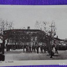 Postales: VILLAGARCIA - ALAMEDA. Lote 191481416