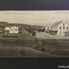 Cartes Postales: FERROL-ESTACION DEL FERROCARRIL-ED·NORES Y COUCE-POSTAL ANTIGUA-(66.722). Lote 191739395