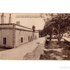 Postales: LA CORUÑA.- SANATORIO MARÍTIMO NACIONAL DE OZA. ANTIGUO CASTILLO, HOY COMEDOR DE COLONIAS.. Lote 191782616