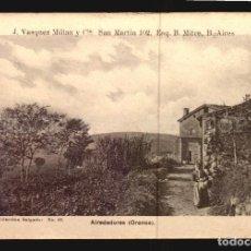 Postales: ALREDEDORES DE ORENSE SALGADO N°26 TARJETA POSTAL GALICIA CA.1900 EDICION ARGENTINA. Lote 191797120