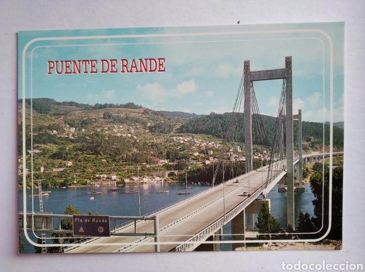 POSTAL REDONDELA PONTEVEDRA PUENTE DE RANDE ED ARRIBAS (Postales - España - Galicia Moderna (desde 1940))